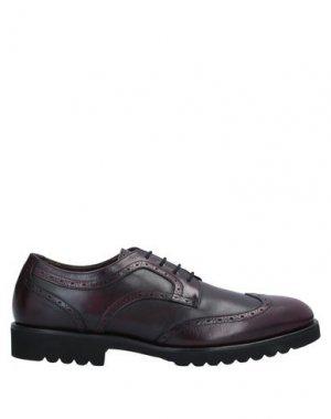 Обувь на шнурках ALDO BRUÉ. Цвет: баклажанный