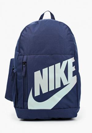Рюкзак и пенал Nike Y NK ELMNTL BKPK - FA19. Цвет: синий