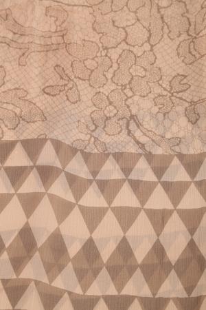 Палантин Basile. Цвет: бежевый, коричневый