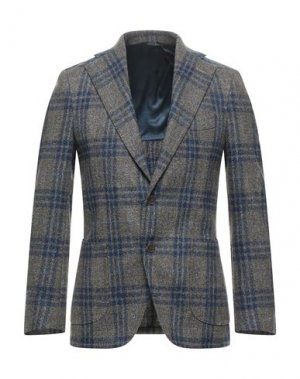 Пиджак GABO Napoli. Цвет: голубиный серый