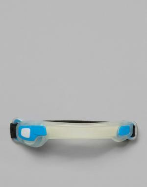 Синий браслет на предплечье со светодиодными лампами Active Sport Hama. Цвет: синий