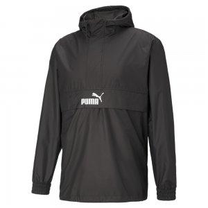 Ветровка Half-Zip Mens Windbreaker PUMA. Цвет: черный