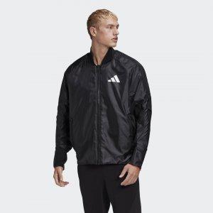 Бомбер оверсайз VRCT Athletics adidas. Цвет: черный