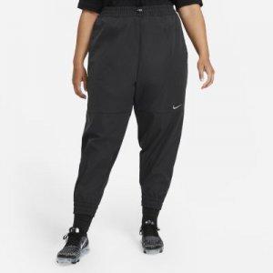 Женские брюки Nike Sportswear Swoosh (большие размеры) - Черный