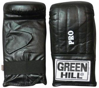 Перчатки снарядные Pro, размер 6 Green Hill. Цвет: черный