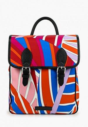 Рюкзак Emilio Pucci. Цвет: разноцветный