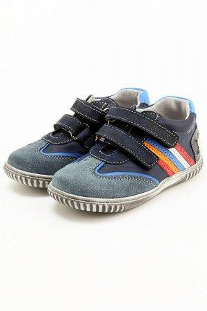 Ботинки King Boots. Цвет: синий, голубой