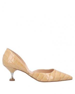 Туфли GIAMPAOLO VIOZZI. Цвет: песочный