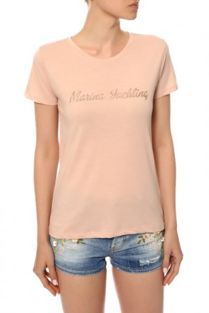 Футболка Marina Yachting. Цвет: cipria