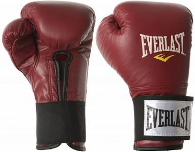 Перчатки тренировочные , размер 16 oz Everlast. Цвет: красный