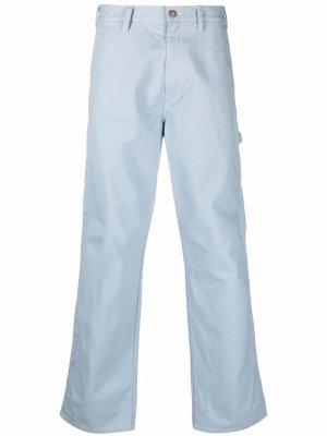 Прямые брюки карго DICKIES. Цвет: синий