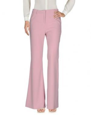 Повседневные брюки AU JOUR LE. Цвет: пастельно-розовый
