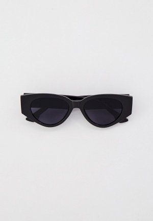 Очки солнцезащитные Bocciolo. Цвет: черный