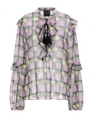 Блузка DANIELA DREI. Цвет: розовый