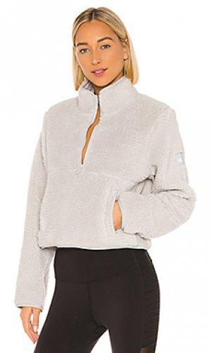 Пуловер shanti alo. Цвет: светло-серый