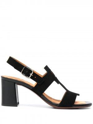 Босоножки Lusca на блочном каблуке Chie Mihara. Цвет: черный