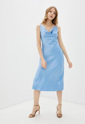 Платье Francesco Donni. Цвет: голубой