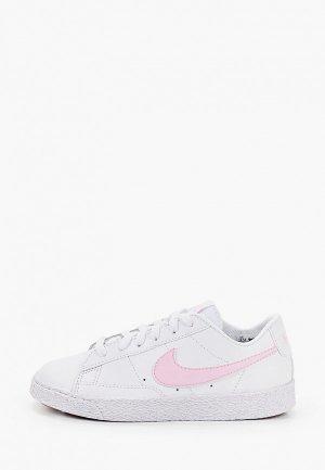 Кеды Nike BLAZER LOW (PS). Цвет: белый