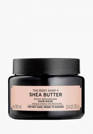 Маска для волос The Body Shop восстанавливающая Ши, 240 мл. Цвет: черный