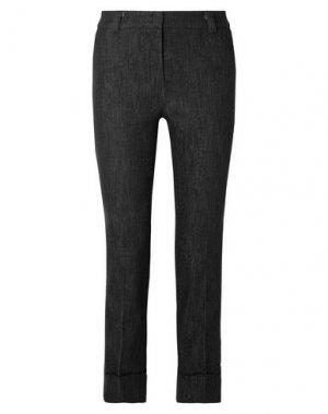 Джинсовые брюки AKRIS. Цвет: черный