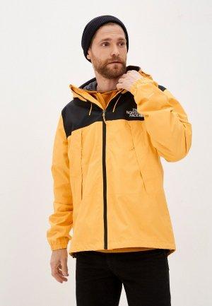 Куртка The North Face. Цвет: желтый
