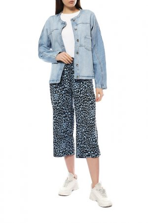 Куртка джинсовая Kaffe. Цвет: голубой