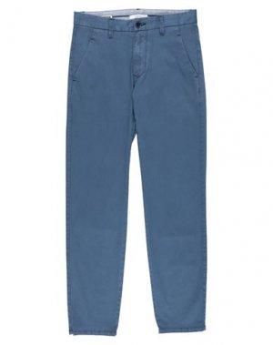 Повседневные брюки GAUDÌ. Цвет: синий