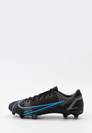 Бутсы Nike VAPOR 14 ACADEMY FG/MG. Цвет: черный
