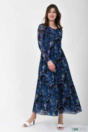 Платье Marc Aurel. Цвет: синий