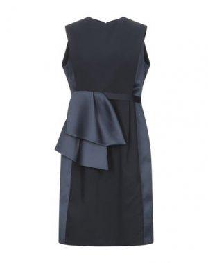Платье до колена DICE KAYEK. Цвет: темно-синий