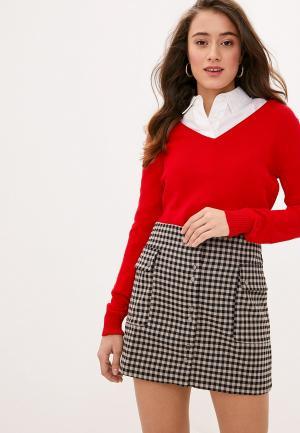 Пуловер Koton. Цвет: красный