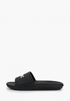 Сланцы Lacoste CROCO SLIDE 119 3 CFA. Цвет: черный