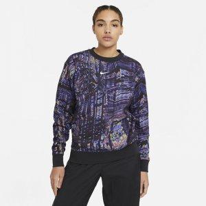 Женский флисовый свитшот для танцев Nike Sportswear - Черный