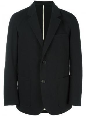 Повседневный пиджак Umit Benan. Цвет: чёрный
