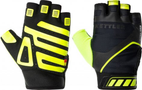 Перчатки для фитнеса , размер 7,5 Kettler. Цвет: зеленый