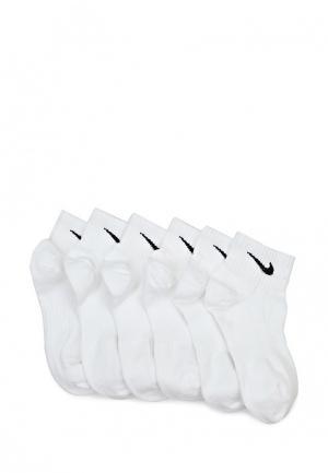 Комплект Nike Perfect Lightweight Quarter Training. Цвет: белый