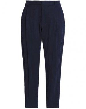 Повседневные брюки CHALAYAN. Цвет: темно-синий