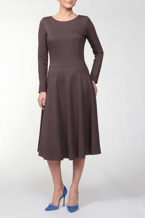 Платье Joe Suis. Цвет: коричневый