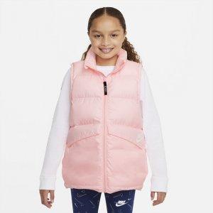 Жилет с синтетическим наполнителем для школьников Sportswear - Розовый Nike