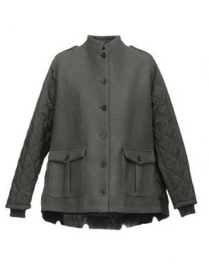 Куртка ADELE FADO. Цвет: зеленый-милитари