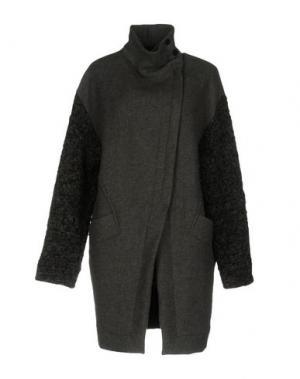 Пальто ROQUE ILARIA NISTRI. Цвет: серый
