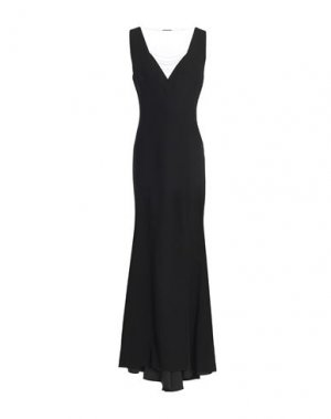 Длинное платье ELIE TAHARI. Цвет: черный