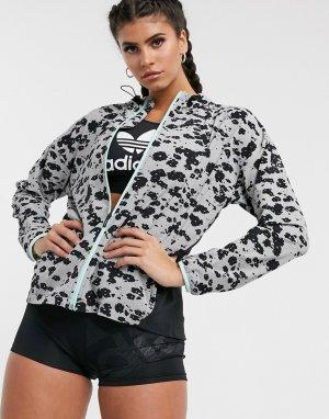 Куртка-накидка -Черный adidas