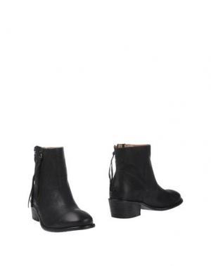 Полусапоги и высокие ботинки FRENCH SOLE. Цвет: черный