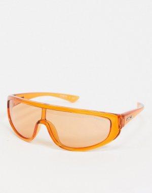 Оранжевые солнцезащитные очки-маска x Post Malone-Оранжевый Arnette