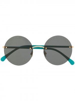 Солнцезащитные очки 2019-го года из коллаборации с Pharrell Williams Chanel Pre-Owned. Цвет: зеленый