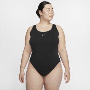 Женское боди Nike Sportswear Essential (большие размеры) - Черный