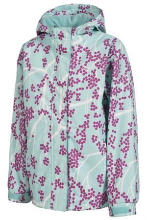 Jacket Trespass. Цвет: green, pink