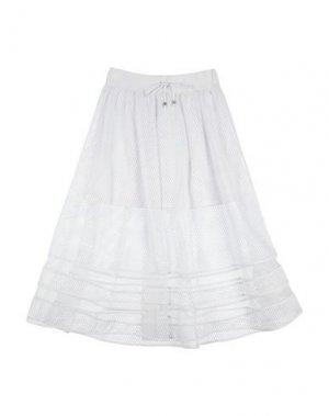 Юбка ELSY. Цвет: белый