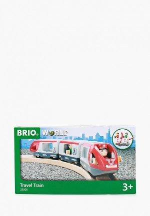 Набор игровой Brio Пассажирский поезд-экспресс. Цвет: разноцветный